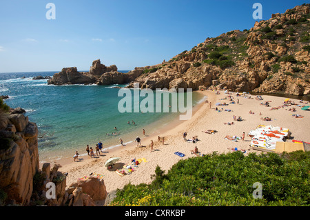 Li Cossi beach, Costa Paradiso, Sardinia, Italy, Europe - Stock Photo