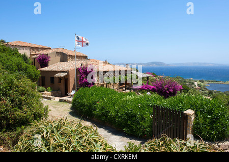 Mansion near Santa Teresa Gallura, Sardinia, Italy, Europe - Stock Photo