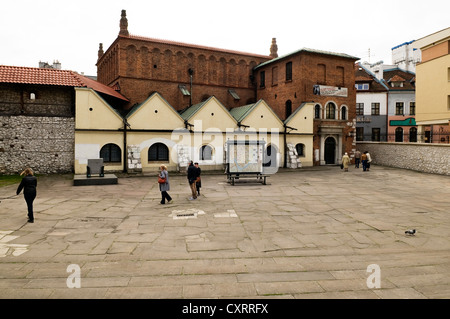 Stara Synagoga, Stara Boznica or Old Synagogue, oldest synagogue in Poland, partly Gothic and Renaissance, now a - Stock Photo