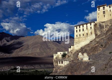 Spituk Monastery, Ladakh, Indian Himalayas, Jammu and Kashmir, North Indian, India, Asia - Stock Photo