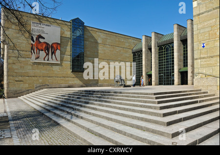 Neue Pinakothek art museum, Munich, Bavaria, Germany, Europe - Stock Photo
