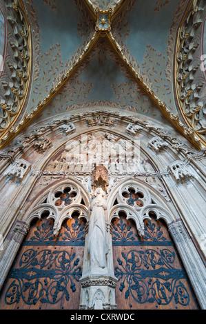 Mary's Gate, Matthias Church, castle hill, Budapest, Hungary, Europe - Stock Photo