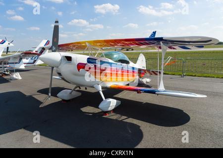 Sport aircraft Christen Eagle II - Stock Photo