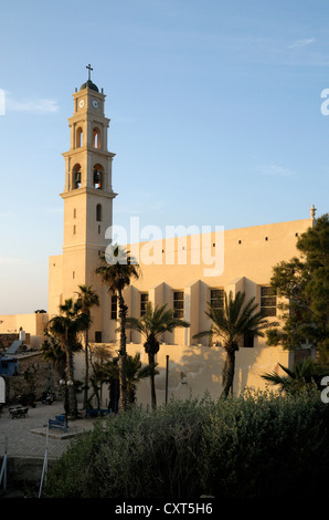 St. Peter's Church, Jaffa, Tel Aviv, Israel, Middle East - Stock Photo