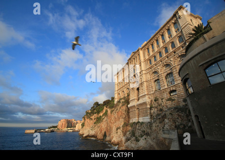 Oceanographic Museum, Principality of Monaco, French Riviera, Mediterranean Sea, Europe - Stock Photo