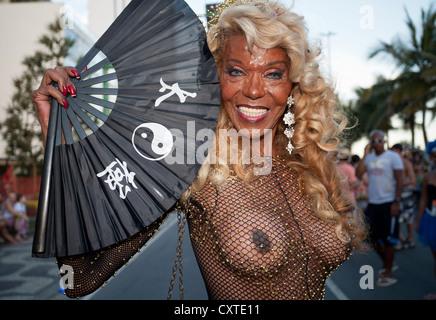 Banda de Ipanema Carnival Rio de Janeiro Brazil - Stock Photo