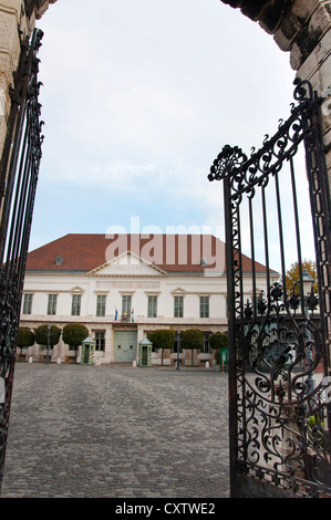 Prime Minister Residence, Buda's Castle District, Budapest, Hungary - Stock Photo