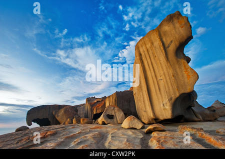 Remarkable Rocks in early morning light. - Stock Photo