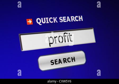 Screen code concept - Stock Photo