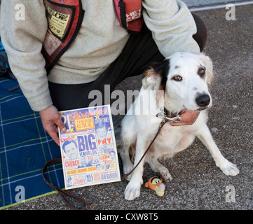 Surrey Homeless Girl And Her Dog