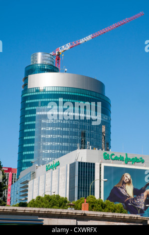 Titania tower. Madrid, Spain. - Stock Photo
