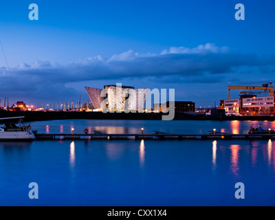 Titanic Belfast, Northern Ireland - Stock Photo