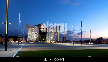 Titanic Belfast, Northern Ireland - Stock Photo
