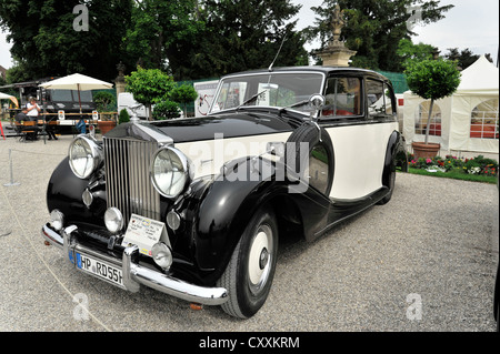 Rolls Royce Silver Wraith, built in 1950, vintage car, Retro Classics meets Barock 2012, Ludwigsburg, Baden-Wuerttemberg - Stock Photo