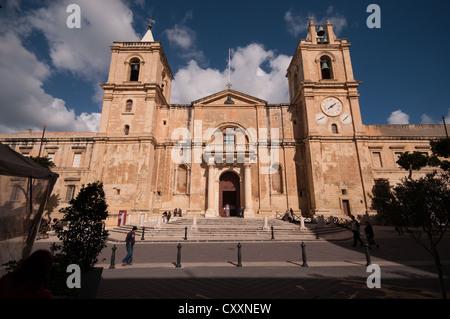 St. John's Co-Cathedral, Valletta, Malta - Stock Photo