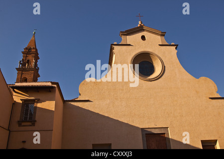 The basilica di santo spirito in Florence, Italy. - Stock Photo