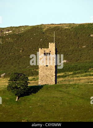 tower on the hill - Stock Photo