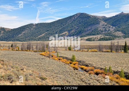 Big Lost River Valley, Idaho, USA - Stock Photo