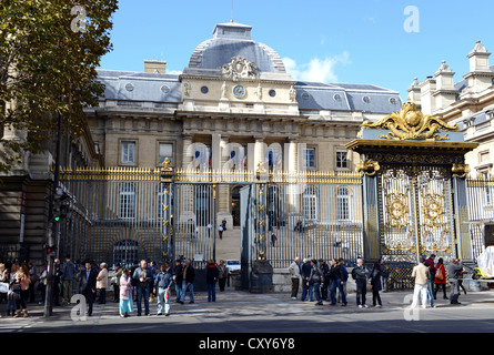 The Palais de Justice courthouse, Paris, France - Stock Photo