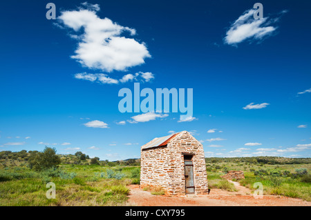 Historical Arltunga Prison in the East MacDonnell Ranges. - Stock Photo