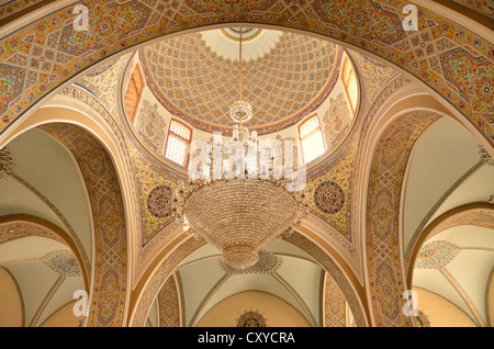Dome of the Friday Mosque in the historic town centre of Baku, UNESCO World Heritage Site, Azerbaijan, Caucasus, - Stock Photo
