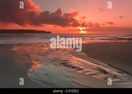 Orkney Islands, Skaill Beach - Stock Photo