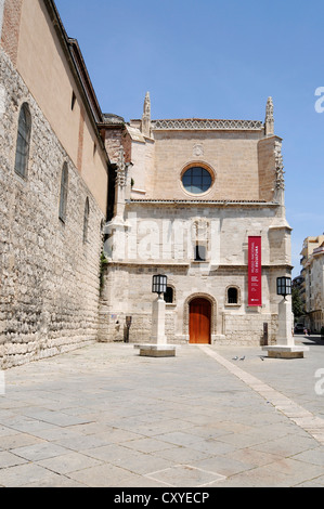 Museo Nacional de Escultura. Colegio de San Gregorio. Valladolid Stock Photo,...