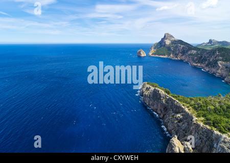 Cap de Formentor, Mallorca, Majorca, Balearic Islands, Spain, Europe - Stock Photo