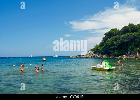 Biodola, Isola d'Elba, Elba, Tuscany, Italy - Stock Photo