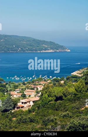 Procchio, Isola d'Elba, Elba, Tuscany, Italy - Stock Photo