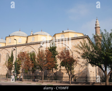 Ulu cami the grand mosque in the old center of Bursa Turkey built ca 1395 - Stock Photo