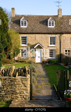 The Front Door Of A Typical Picturesque English Country