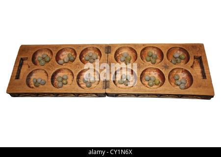 Mancala Board - Stock Photo