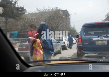 beggers in kabul Stock Photo