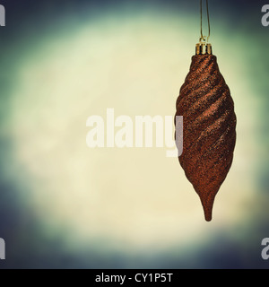 fir cone bauble - Stock Photo