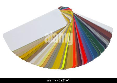 Spread Color Chart Stock Photo 143520054 Alamy