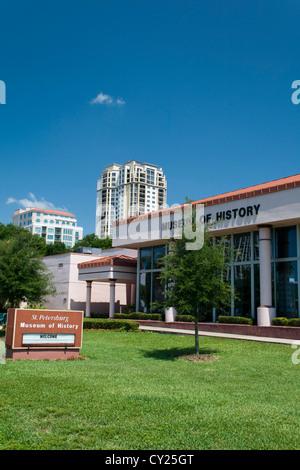 St. Petersburg Museum of History St Petersburg FL - Stock Photo