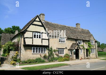 The Old Swan Inn Minster Lovell Oxfordshire England UK - Stock Photo
