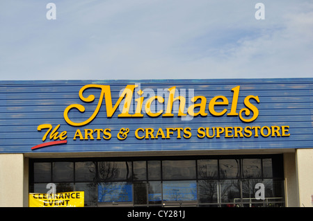The exterior of michaels an arts and crafts store on for Michaels craft store denver