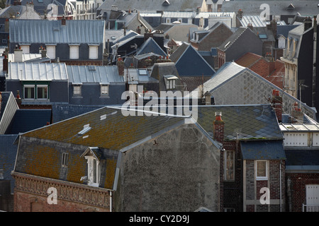 Mers-les-Bains, Picardy, France - Stock Photo