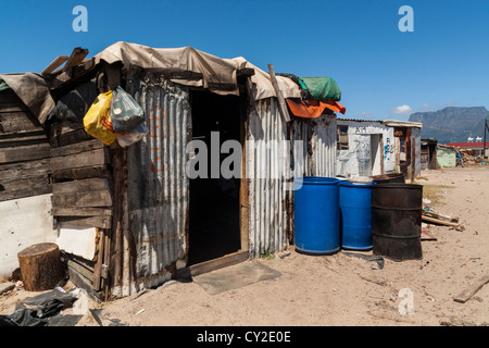 Langa Township, Cape Town, South Africa - Stock Photo