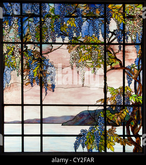 Laurelton Hall Oyster Bay  New York Designed by Louis Comfort Tiffany 1905 United States of America American Fravrile - Stock Photo