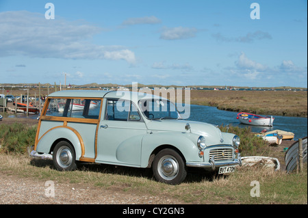 Morris Minor Traveller 1970 - Stock Photo