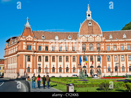 Central administration building of brasov county in - Romanian architectural styles ...