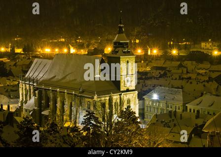 The Black Church( Biserica neagra) - Stock Photo