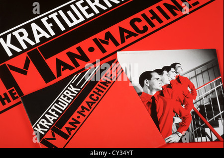 Kraftwerk The Man Machine - Stock Photo