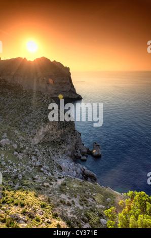 Spain, Balearic Islands, Mallorca, Cap de Formentor - Stock Photo