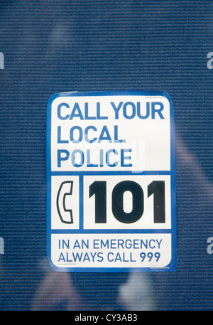 Emergency telephone number UK 999 Stock Photo, Royalty Free Image: 28857828 - Alamy