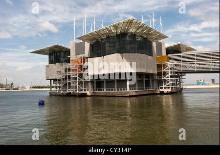 Oceanario (Aquarium), Parque das Naçoes (Park of the Nations), Lisbon, Portugal - Stock Photo