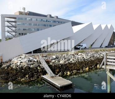 POLARIA MUSEUM.  TROMSO.  NORWAY.  SCANDINAVIA - Stock Photo